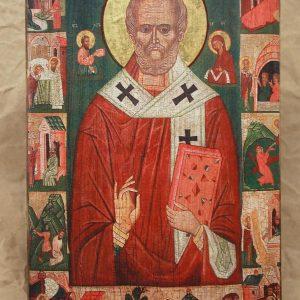Святий Миколай з житієм (Радруж)